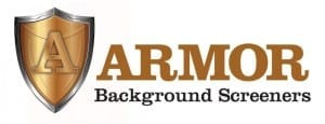 Armor Background Screeners logo
